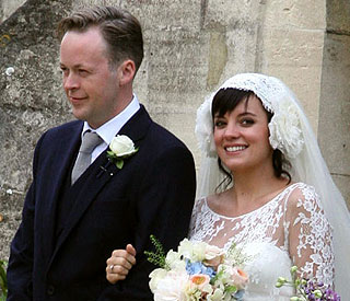 Lily Allen: Husband snubbed anniversary for footie