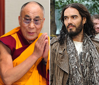 Russell Brand to ask Dalai Lama about meaning of life