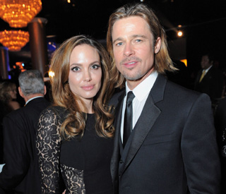 Brad and Angelina to host Olympics party