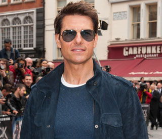 Action man Tom Cruise to the rescue on set