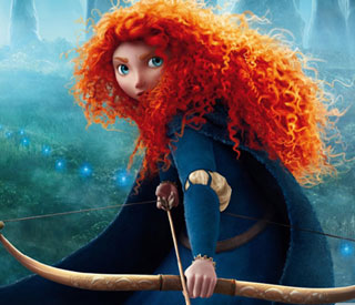 Scottish warrior princess Brave tops US box office