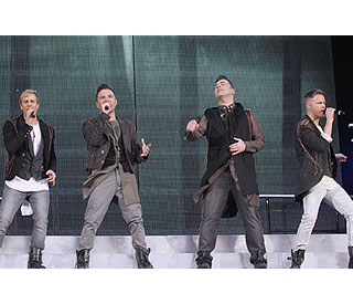 Over 80,000 fans turn out for Westlife's final gig