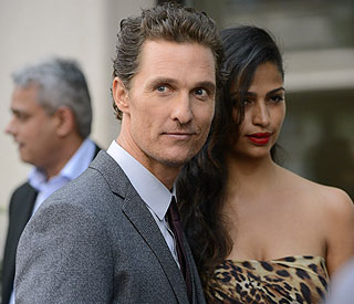 Matthew McConaughey reveals wedding details