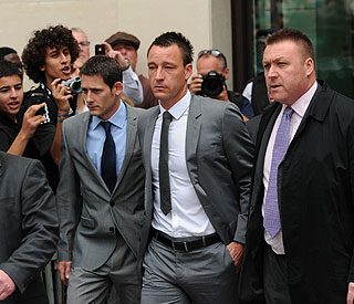 John Terry cleared of racism charges