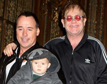 Elton John on hopes for second child