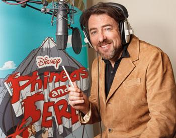 Jonathan Ross gets animated for 'Phineas and Ferb'