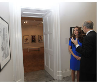Kate sees double at the National Portrait Gallery