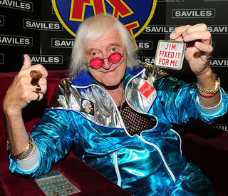 Sir Jimmy Savile's possessions in charity auction