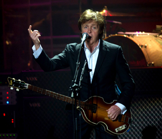 Paul McCartney paid £1 for Olympic gig