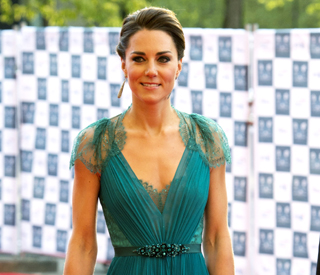 Kate tops best dressed list for third year running