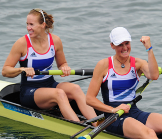 Team GB rowers win Britain's first Olympic gold