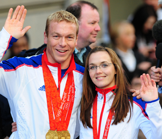 Cyclists Chris and Victoria hoping for more medals