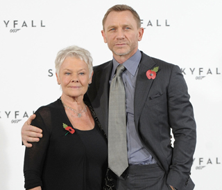 Dame Judi knew nothing of Daniel's Olympic role