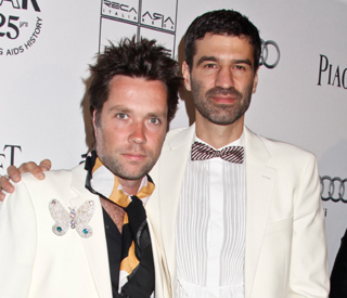 Showbiz friends attend Rufus Wainwright's wedding