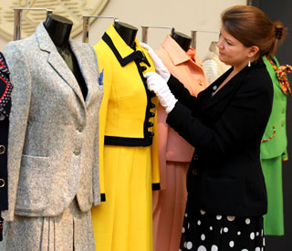 Margaret Thatcher's power dresses sold for £73,000