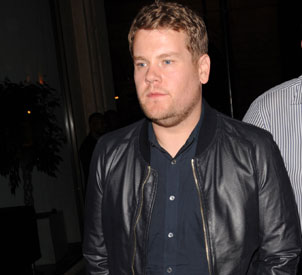 James Corden looks fresh faced on stag night