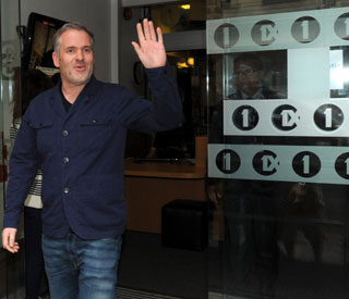 Chris Moyles says goodbye to Radio 1