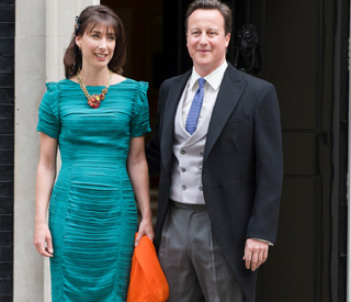 Samantha Cameron's royal wedding dress for sale