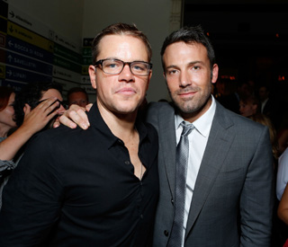 Ben Affleck and Matt Damon reunited on screen