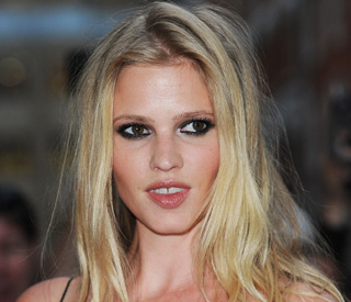 Lara Stone's burger back-up plan