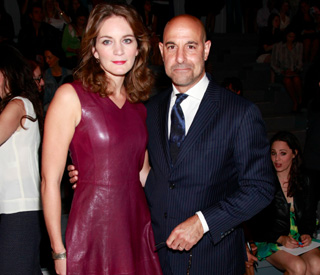 Stanley Tucci and Felicity Blunt throw wedding bash