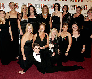 Military Wives: Classical Brit win is 'icing on cake'