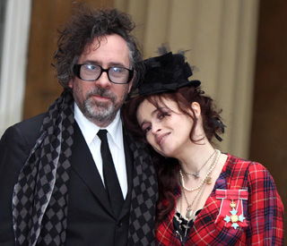 Helena Bonham Carter and Tim move in together
