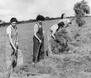 Prince Charles honours Land Girls with memorial