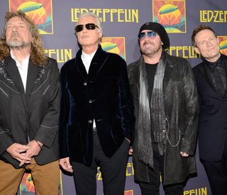 Led Zeppelin play down reunion rumours