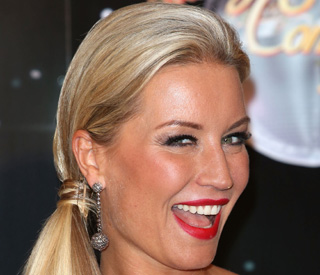 Denise Van Outen suffers Strictly accident