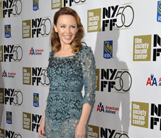 Kylie steps out in age-defying ensemble