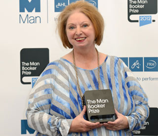 Hilary Mantel breaks record in Booker Prize win