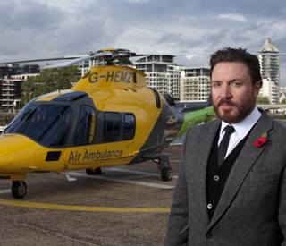 Simon Le Bon hails air ambulance service