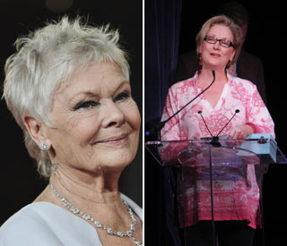 Judi Dench and Meryl Streep in awards face-off