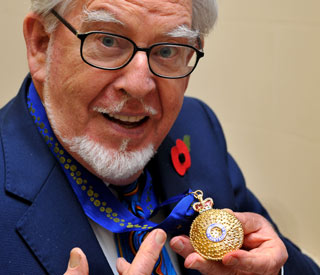 Rolf Harris decorated with highest Australian honour