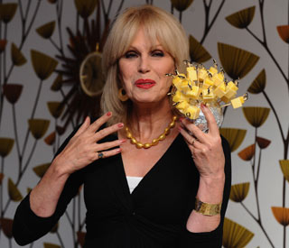 Joanna Lumley auctions off 'Ab Fab' outfits for charity