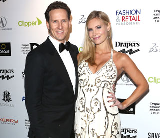 Brendan Cole takes his leading lady on 'last night out'