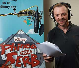 Simon Pegg took Disney role for daughter