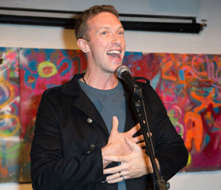 Chris Martin denies Coldplay split rumours