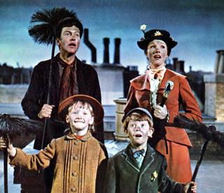 'Mary Poppins' is most watched Christmas movie
