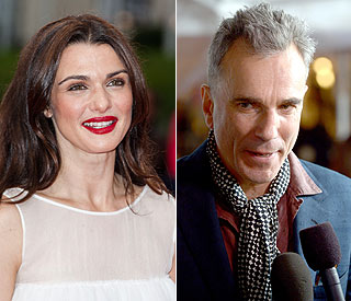 Rachel Weisz and Daniel Day-Lewis honoured