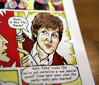 Paul McCartney gets Dandy in final edition of comic