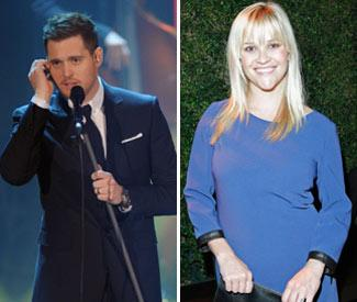 Michael Buble and Reese Witherspoon set to duet