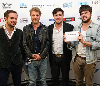 Mumford and Sons to represent Britain at Grammys