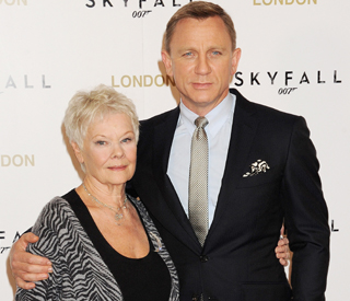 Daniel Craig and Judi Dench are 2012 film faves