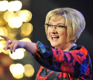 Sarah Millican loves her funny romance