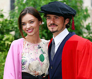 Orlando and Miranda deny split rumours