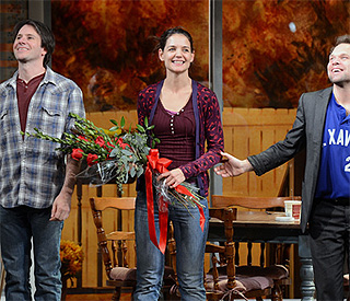 Curtain coming down on Katie Holmes' Broadway run