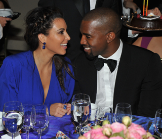 Kim and Kanye in commitment ceremony?