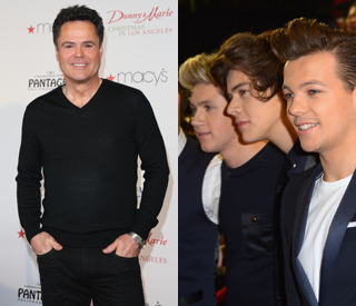 Donny Osmond gives One Direction lessons about fame